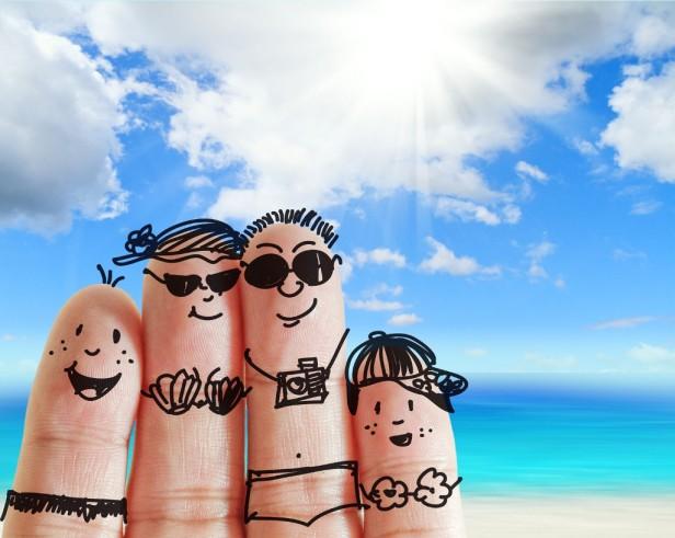 finger-vacation